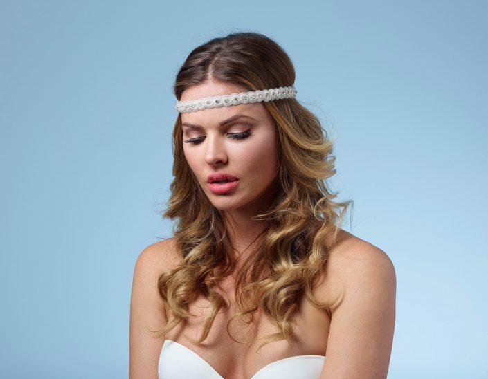Headband perlé