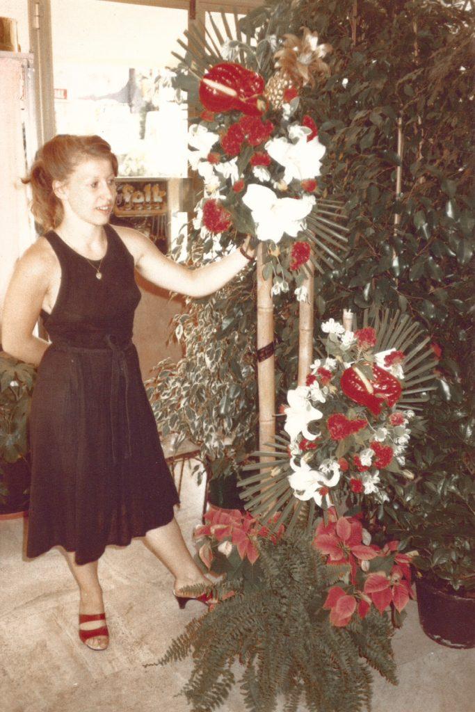 Histoire de Charm'fou Mariage: Laurence Perez, fleuriste