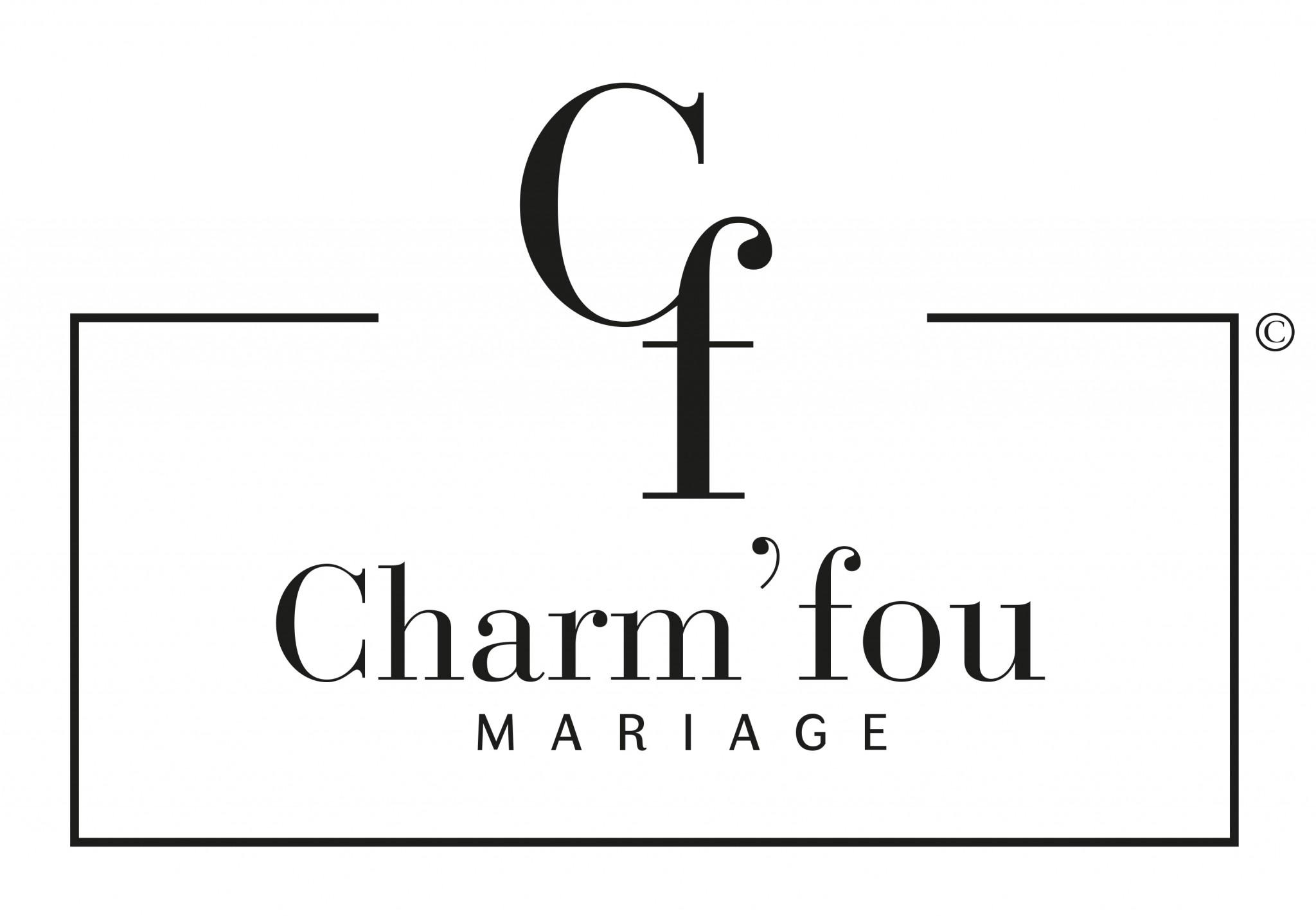 Logo Charm'fou Mariage