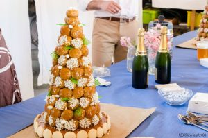 Gâteau de mariage: la pièce montée