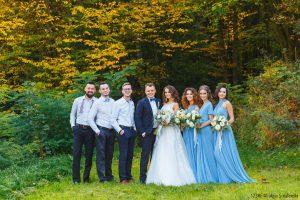 Témoins de mariage et demoiselles d'honneur